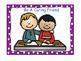 Classroom Rules-Polka Dot Theme (Purple)