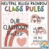 Classroom Rules | Positive Class Rules | Neutral Rainbow