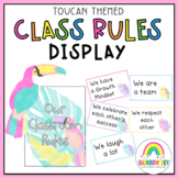 Classroom Rules / Positive Class Rules {Toucan theme}