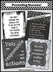 Chalkboard Classroom Decor, Back to School Classroom Rules Posters 8x10 or 16x20
