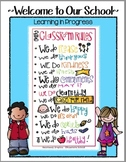 Classroom Rules Poster K-6