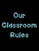 Classroom Rules Poster Set with Black Background