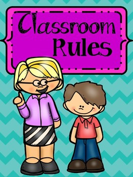 Set of Classroom Rules (Posters)