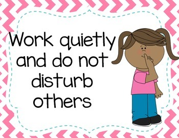Classroom Rules Posters and 3 Behavior Plan choices
