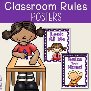 Classroom Rules Posters (Back to School)