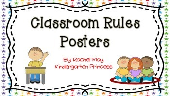 Classroom Rules Posters (Back to school Freebie)
