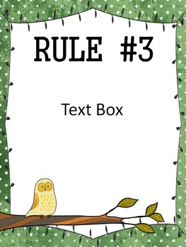 Classroom Rules Posters (EDITABLE) - 50 Posters - 10 Fun Editable Themes