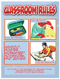 Classroom Rules:  Posters, Handouts, Worksheets and Games