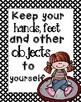 Classroom Rules Posters ** Melonheadz**