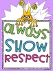 Classroom Rules Posters: Monster Manners