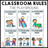 Classroom Rules Posters The Playground