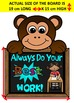 Classroom Rules Posters- ZOO THEME VERSION- COLOR & LOW INK OPTION INCLUDED