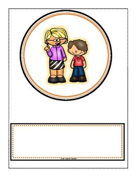 Classroom Rules Posters and Pennant Set Orange (Editable)