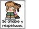 Classroom Rules Posters in Spanish