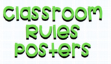 Classroom Rules Posters (with visuals!) for Special Education