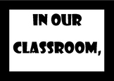 Classroom Rules - Printable