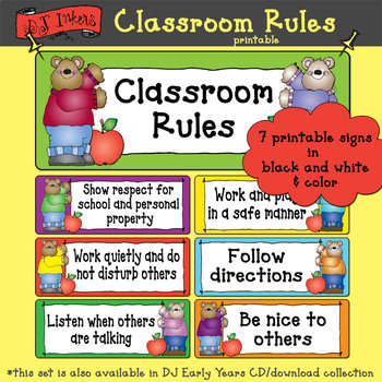 photo regarding Classroom Rules Printable named Clroom Legal guidelines Printable Obtain