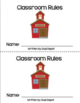 Classroom Rules - Reader in English Only