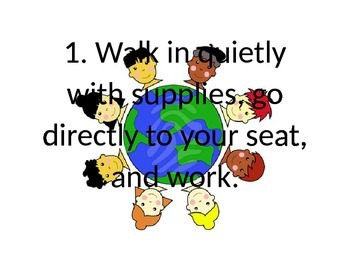 Classroom Rules--Ready, Set, Go!
