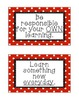 Classroom Rules & Responsibilities
