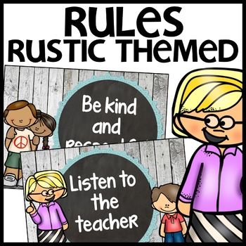 Classroom Rules (RusticThemed)