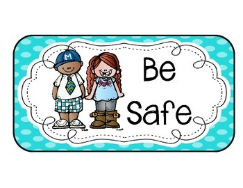 Classroom Rules-Safe, Responsible, Respectful, Ready