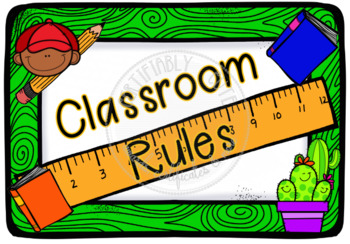 Classroom Rules Set 1