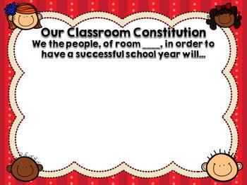 Classroom Rules Set