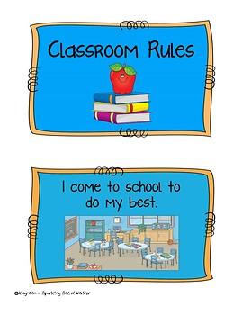 Classroom Rules Social Story