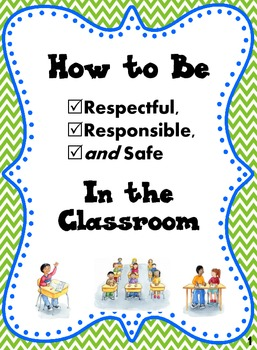 classroom rules social story how to be respectful