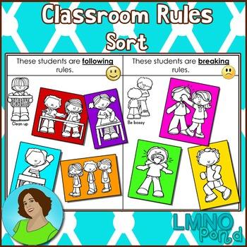Classroom Rules Sort