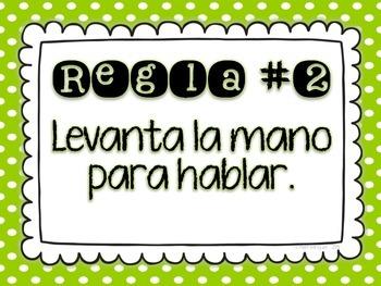Classroom Rules {Spanish}