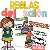 Classroom Rules Spanish - Reglas del Salon