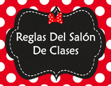 Classroom Rules Spanish - Reglas del Salon (Editable Templates)