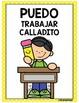 Classroom Rules- Yellow Polka Dot Theme {SPANISH}
