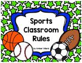 Classroom Rules {Sports}