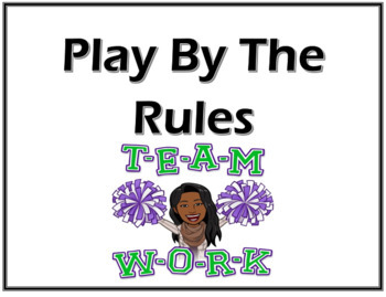 Classroom Rules- Sports themed