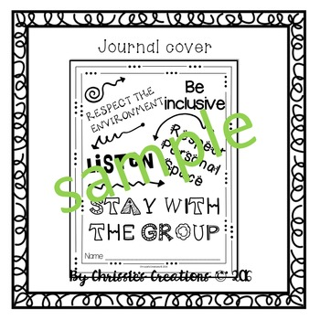 Classroom Rules Student Journal for Positive Behavior Managment