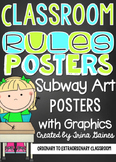 Classroom Rules Subway Art