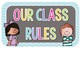 Classroom Rules: Sunny Days Edition FREEBIE