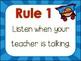 Classroom Rules {Super Hero Theme} Positive Behavior - Whole Brain
