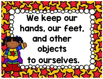 Classroom Rules {Superhero}