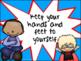 Classroom Rules (Superhero themed)