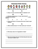 Classroom Rules Survey