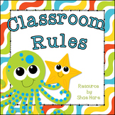 Classroom Rules {Under the Sea Theme} Positive Behavior -