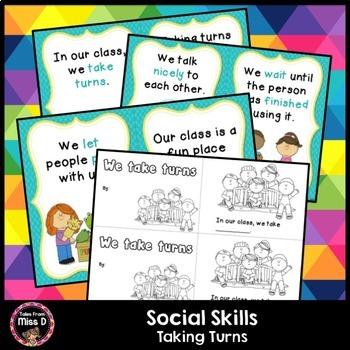 Social Skills Taking Turns
