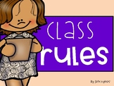 Classroom Rules- Whole Brain Teaching Style