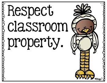 Classroom Rules (Wild Monsters)