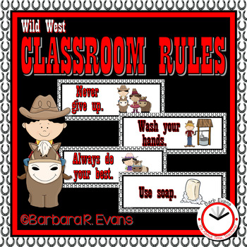 CLASSROOM RULES: Wild West Edition