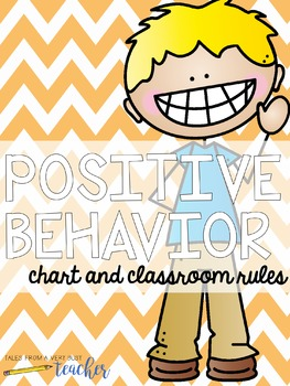 Classroom Rules and Behavior Chart {Positive Management}